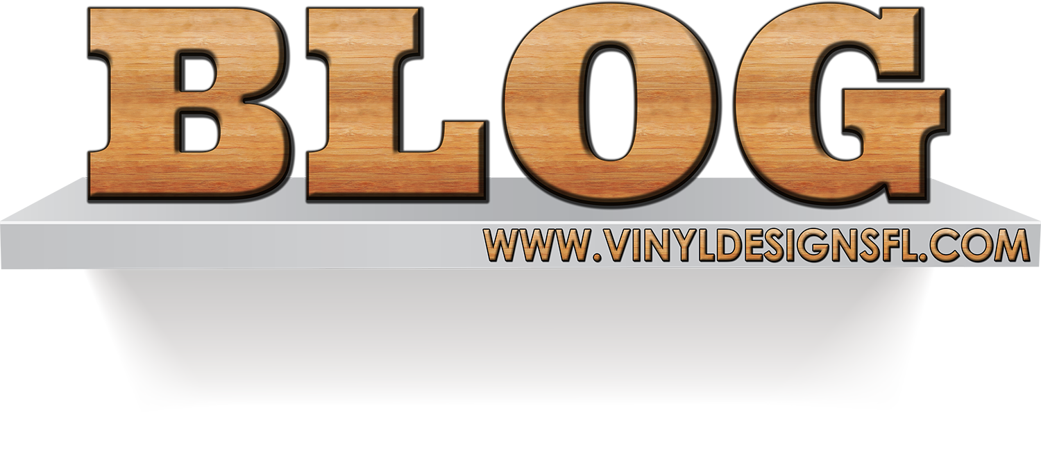 Vinyl De Signs Blog picture wit site on it www.vinyldesignsfl.com