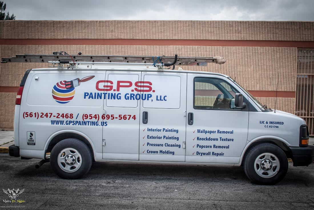 Gps painting vehicle lettering and decals 3 of 6