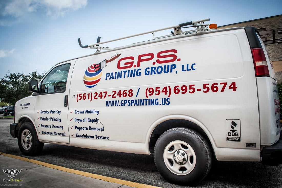 Gps painting vehicle lettering and decals vinyl de signs for Truck lettering design online