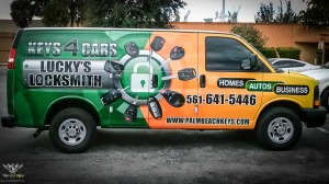 Lucky Lock Smith Full Service Van Wrap WEB (3 of 4)