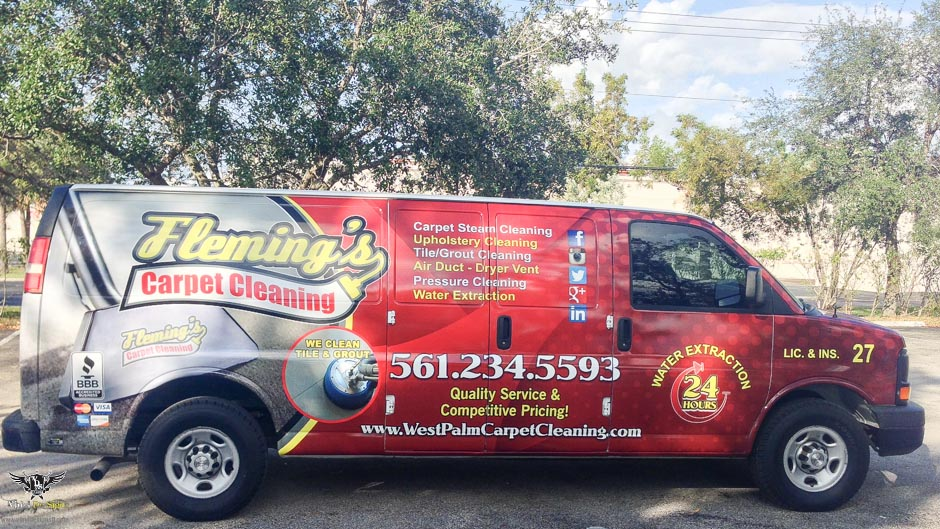 Vinyl De Signs Inc Vehicle Wrap